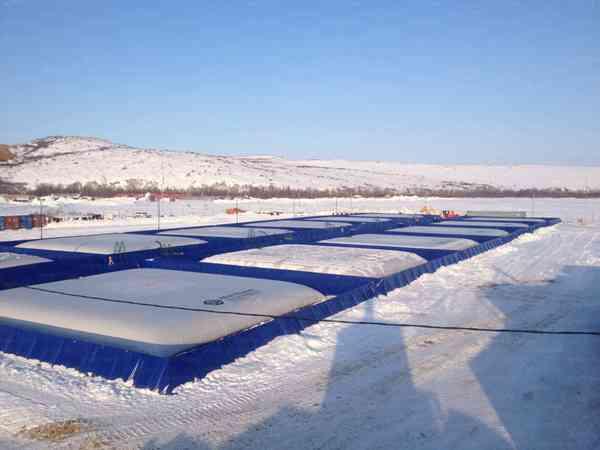 IMG_5992 Мягкий резервуар для нефти - лучший вариант создать склад ГСМ