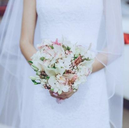 Букет невесты заказать в Казани